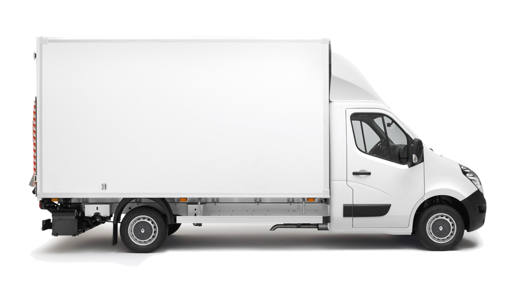 furgone bianco per fare traslochi